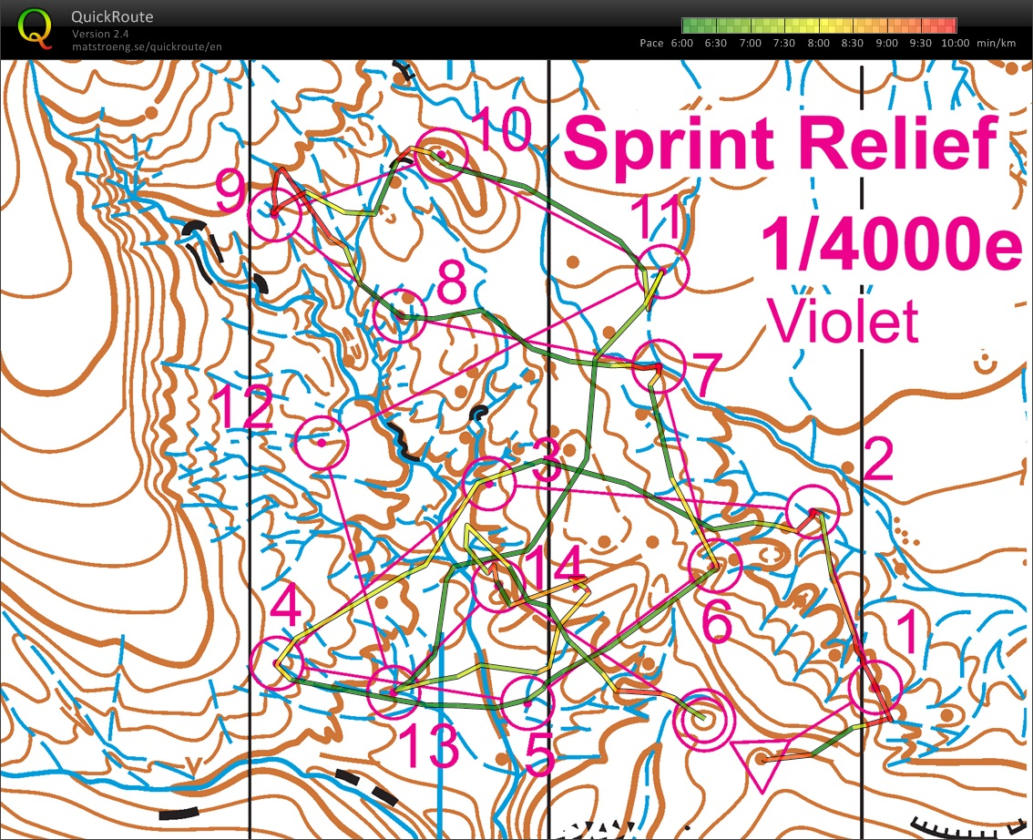 RDE Paca // Sprint Relief (30/01/2016)