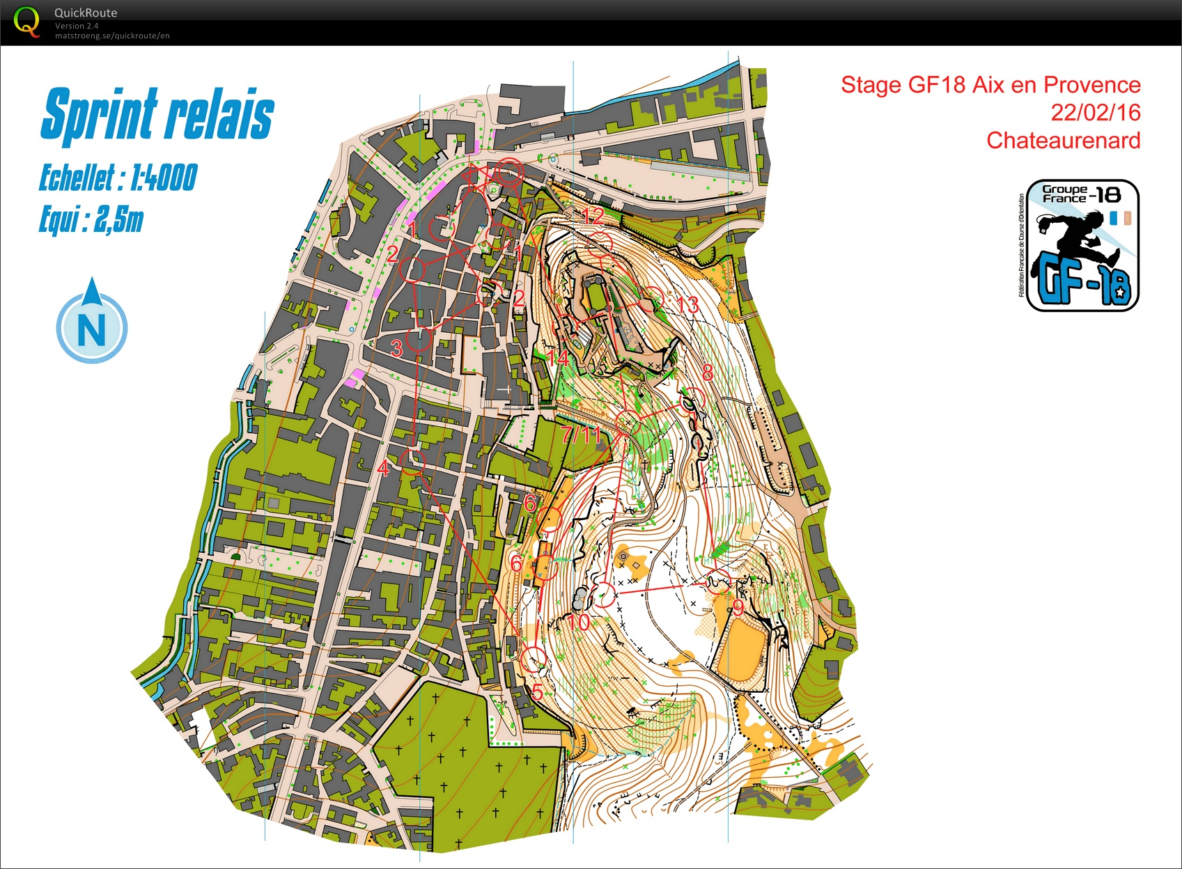 Stage gf-18 (Aix) // Mixte Sprint Relais (2) (22/02/2016)