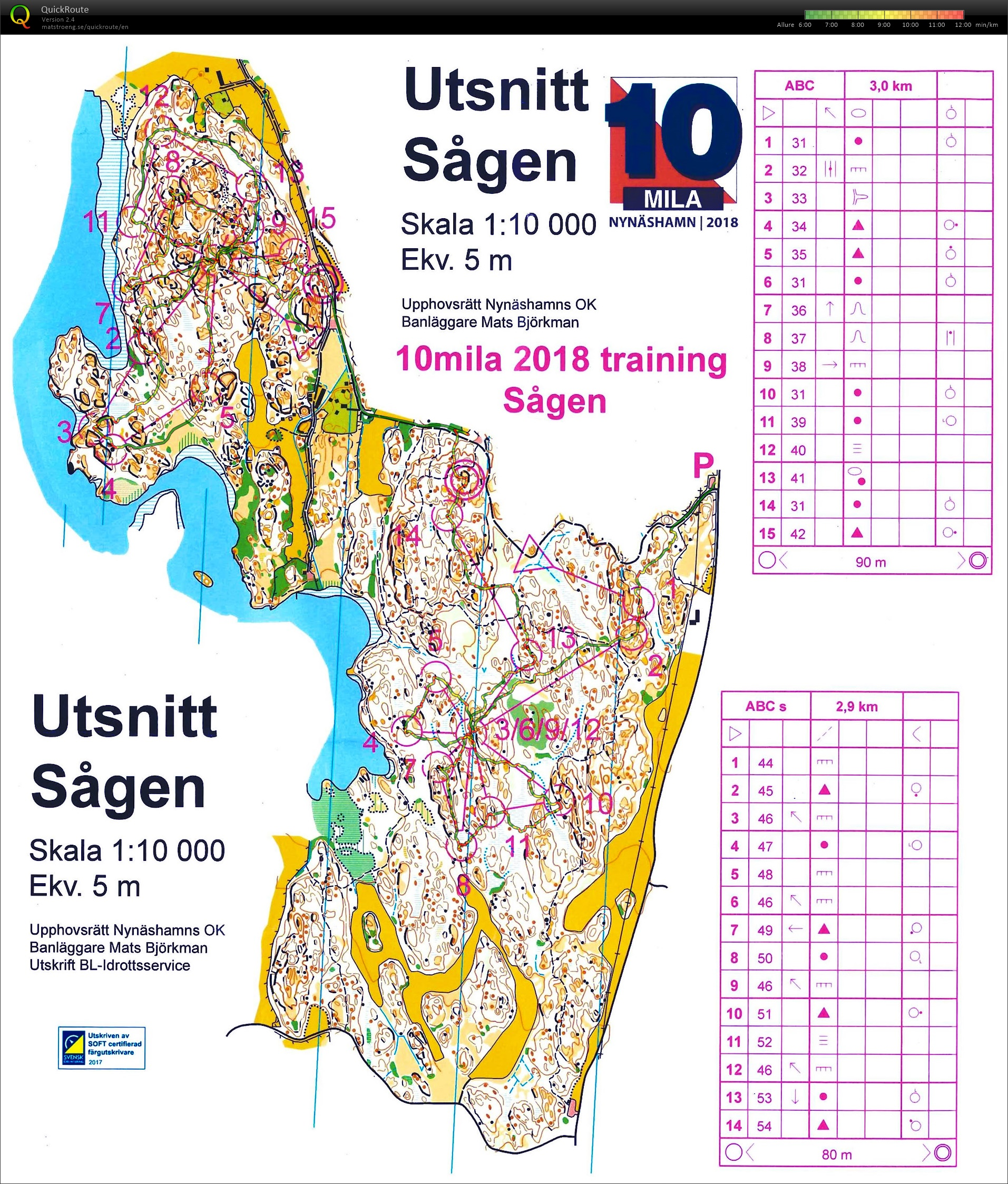 10mila training2 : Sågen (27/04/2018)