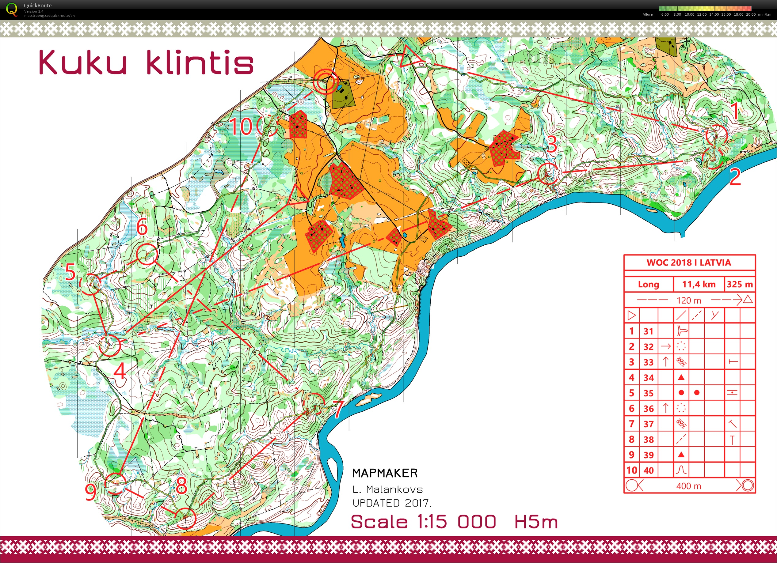PrépaWOC 2018 Latvia // Long-Legs (SWE) (04/07/2018)