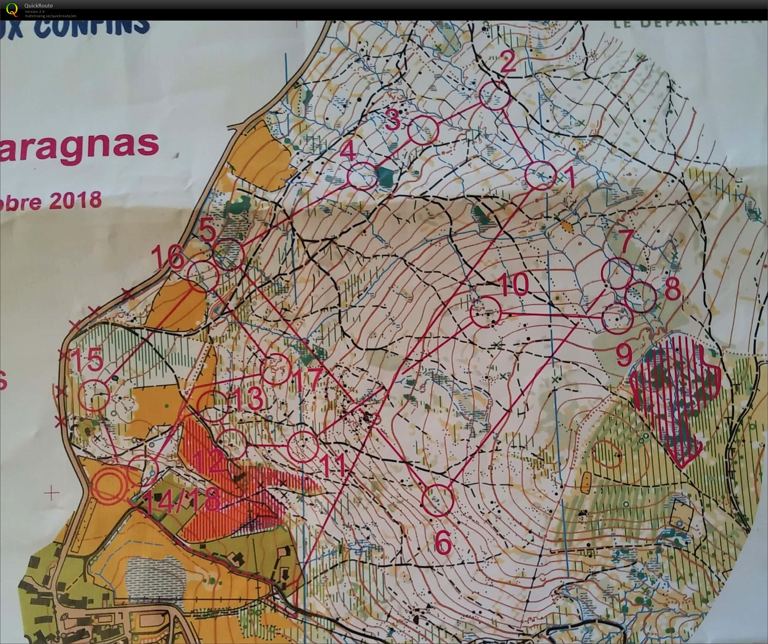 Garagnas Relais Homme Mass start (14/10/2018)