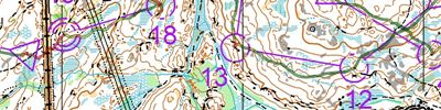 WOC2019 training // Skårefjell 6 intervaller (2019-07-18)