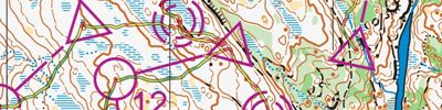 WOC2019 training : Guttersrød 6 intervaller (2019-08-23)